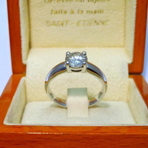 Solitaire diamant fait main FAIT MAIN par Audouard