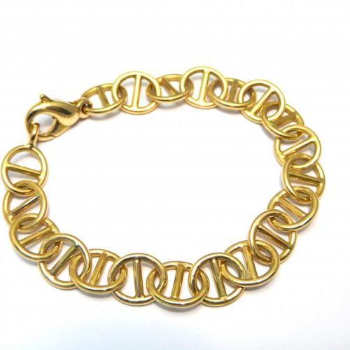 bracelet or ,fait main par Audouard
