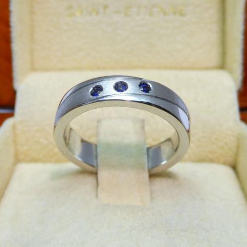 anneau d' engagement par Audouard