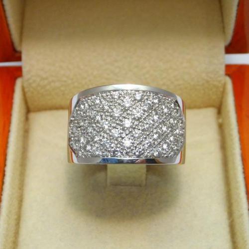 pavage de diamants par Audouard