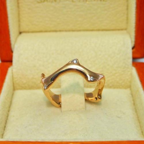 anneau diamants par Audouard