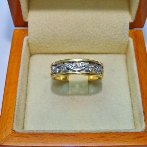 anneau d'Engagement par Audouard