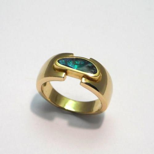 monture pour opale cliente par Audouard